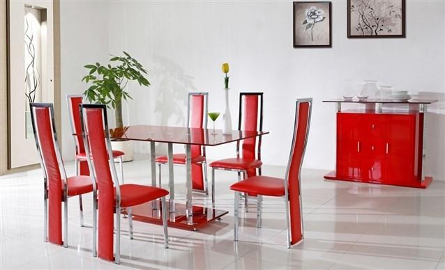 جمالية الكراسي الملونه للمطبخ